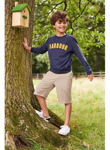 Barbour Erkek Çocuk  Prep Logo Sweatshirt Ny91 Navy Lacivert